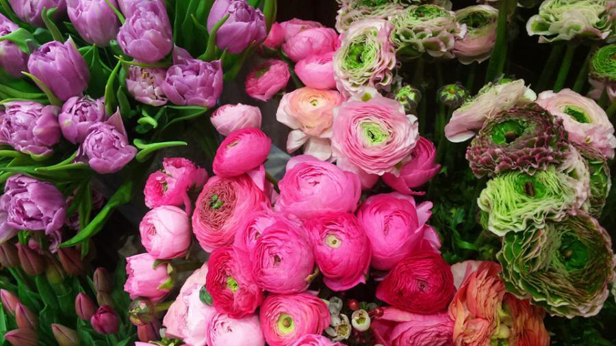 Bouquet de fleurs Fontainebleau. Création florale Ury. Livraison ...